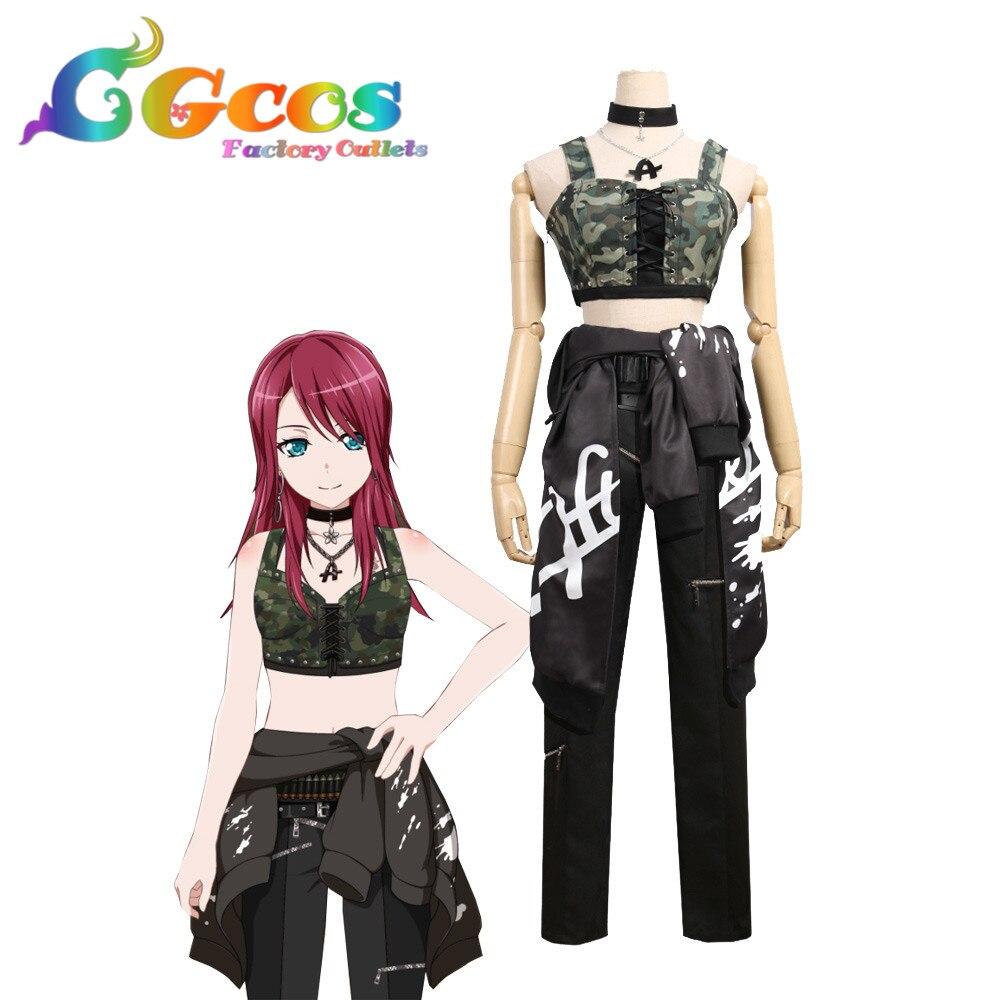 CGCOS Cosplay Estrondo Sonho! Afterglow segunda chave visual Udagawa Tomoe Traje Diário Anime Uniforme Halloween Anime Jogo
