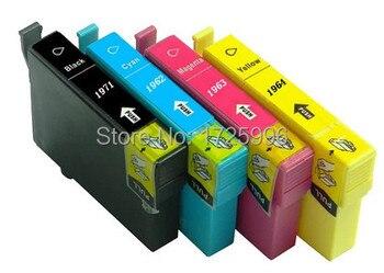 ink cartridge T1971,T1962 T1963 T1964 series suit for Epson XP-201, XP-204, XP-214, XP-401