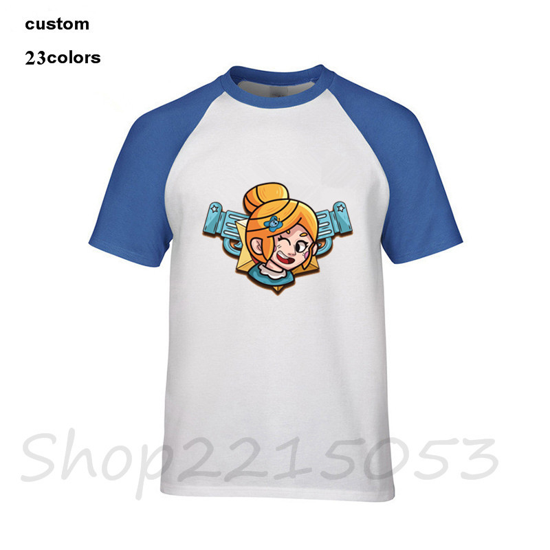2019 streetwear Brawlstars PIPER Brawl Stars wars Men game T-Shirt military assassinss creed masculina male tee tshirt t shirts