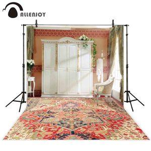 Image 1 - Allenjoy 写真の背景の結婚式リビングルームの窓の花カーペット背景写真スタジオ撮影 photophone photocall 装飾