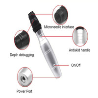 Face Skin Care Tool Electric Derma Pen Needles Tattoo Pen Anti Wrinkle Acne Removal Rejuvenation