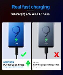 USB C кабель 3m Быстрая зарядка для USBC USB Type C Macbook Pro 2m QC 3,0 60W 3A USB3.1 Gen1 Type C кабель для Samsung Huawei