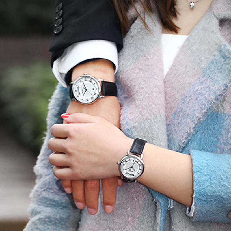 Berny Cuarzo Amante Relojes Moda Top Marca de Lujo Relogio Saat - Relojes para hombres - foto 6