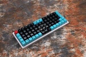 Image 4 - Механическая клавиатура xd75re xd75am xd75, настраиваемая клавиатура с 75 клавишами, подсветка RGB PCB GH60, 60% программируемый gh60 kle planck, переключатель горячей замены