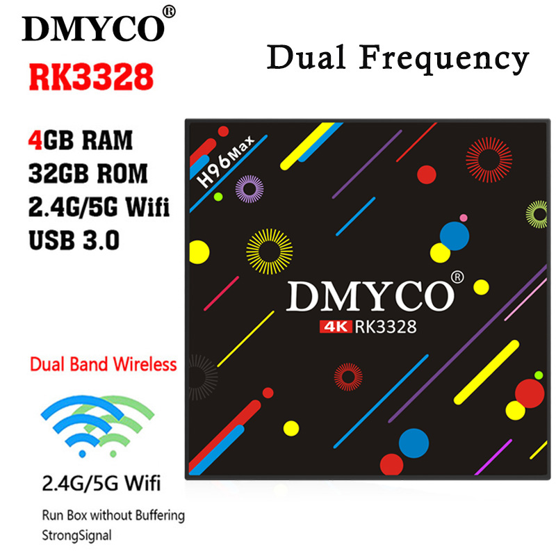 DMYCO H96 MAX 4GB/32GB+1 year iptv 2000 Live TV IPTV M3U ENIGAM2 Androd IPTV ITALY German French Spain UK IT android IPTV tv box