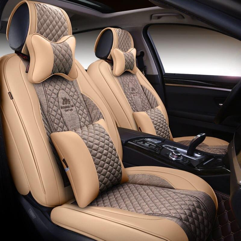 Новый 5 Стульчики детские (спереди и сзади) автомобиль подушки сиденья автомобиля Pad Автомобиль Стайлинг автокресло чехол для Benz B180 C200 E260 CL cla