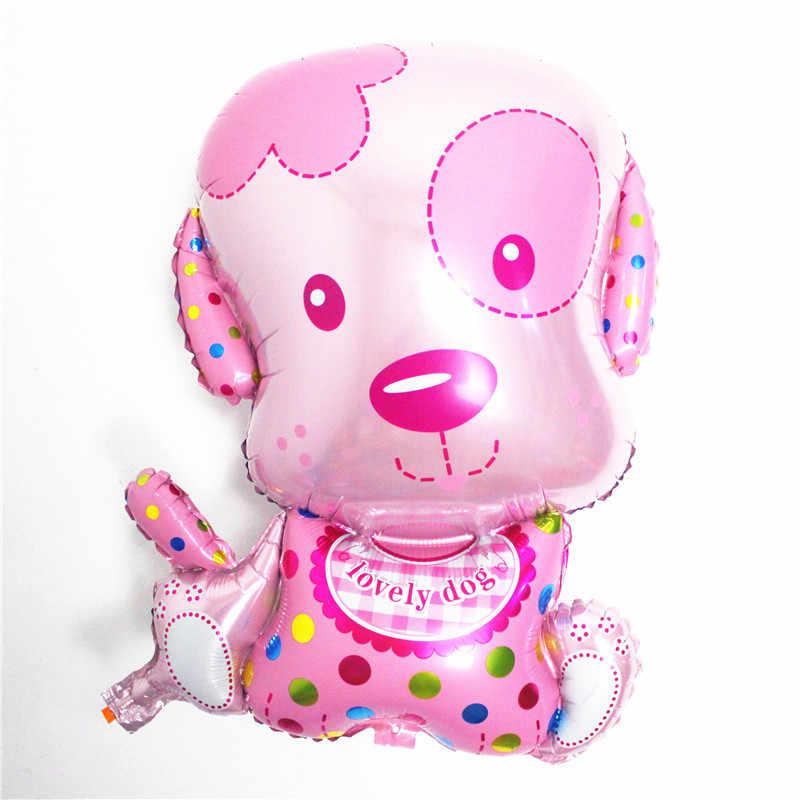 Xiaohuang мультфильм животных фольгированные воздушные шары ребенка 100 дней полная луна День рождения Свадебные украшения