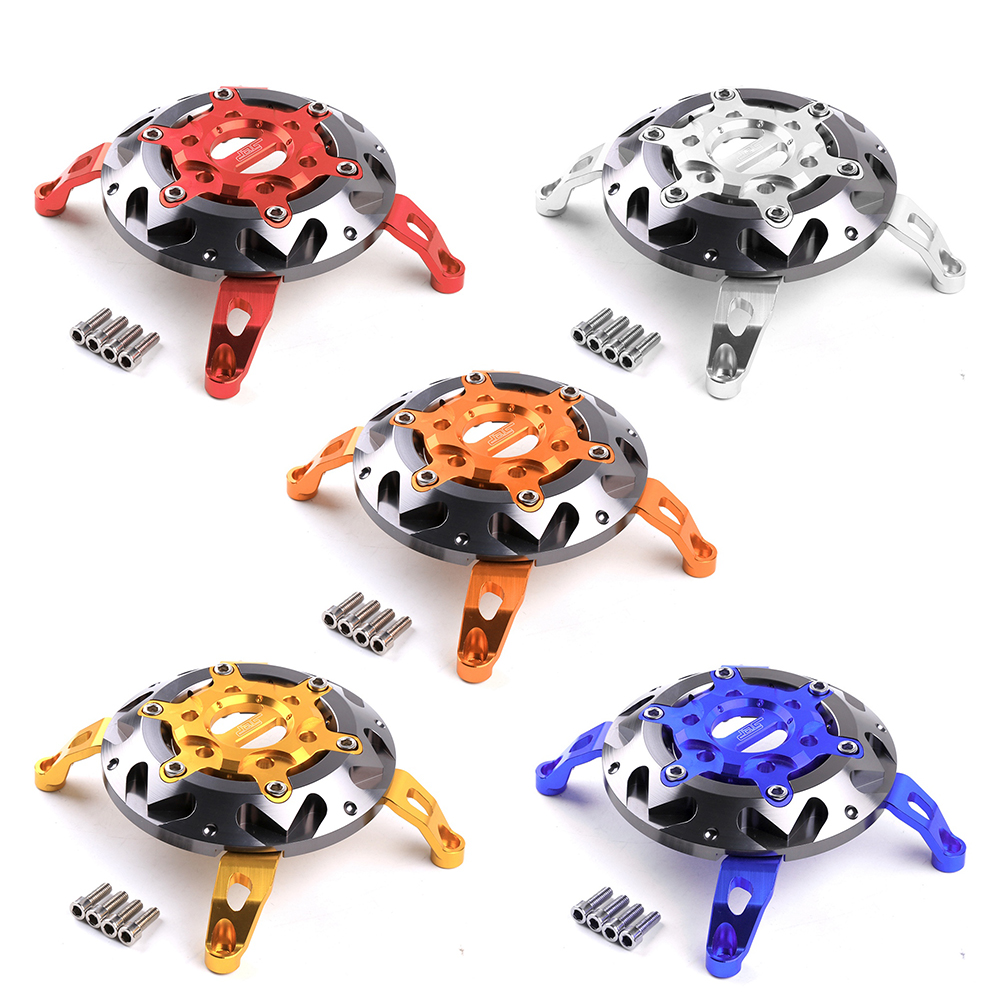 Motorcycle Accessories CNC Aluminum Alloy Engine Stator Guard Cover Protector For Yamaha SMAX155 2013-2015 motorbike scooter cnc aluminum alloy rotatable spinable cooling fan cap cover protector guard for yamaha bws x 125 cygnus 125