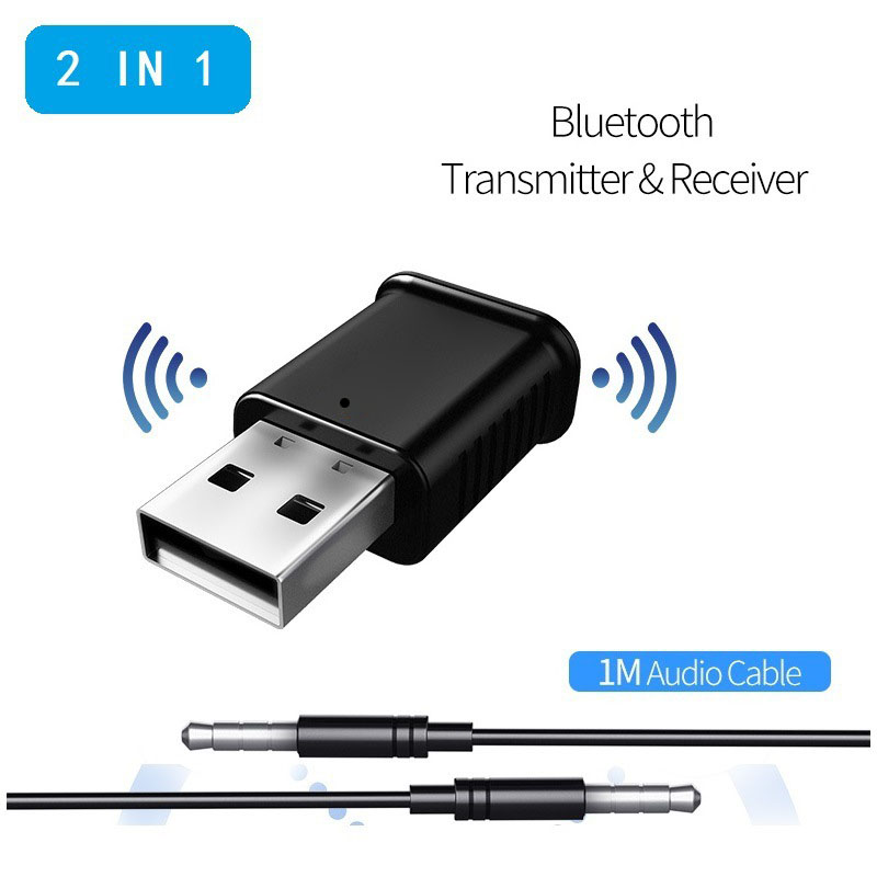 2019 2 in 1 Bluetooth Emitter Receiver BLE 5.0 2 Modes Car Audio Multifunctional Adapter CSL88