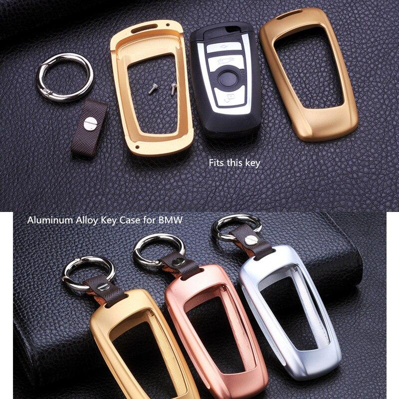 Super qualité clé de voiture en alliage d'aluminium pour BMW série 3 5 525li 320X1X3X4 accessoires de luxe GT