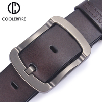 2017 Brand Luxury 100 Genuine Leather Belt For Men Casual Fashion Designer Belts Men High Quality