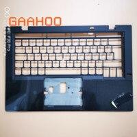 For Lenovo ThinkPad X1 Carbon 3rd 2015 palmrest upper case Keyboard Bezel /w FP hole UK layout