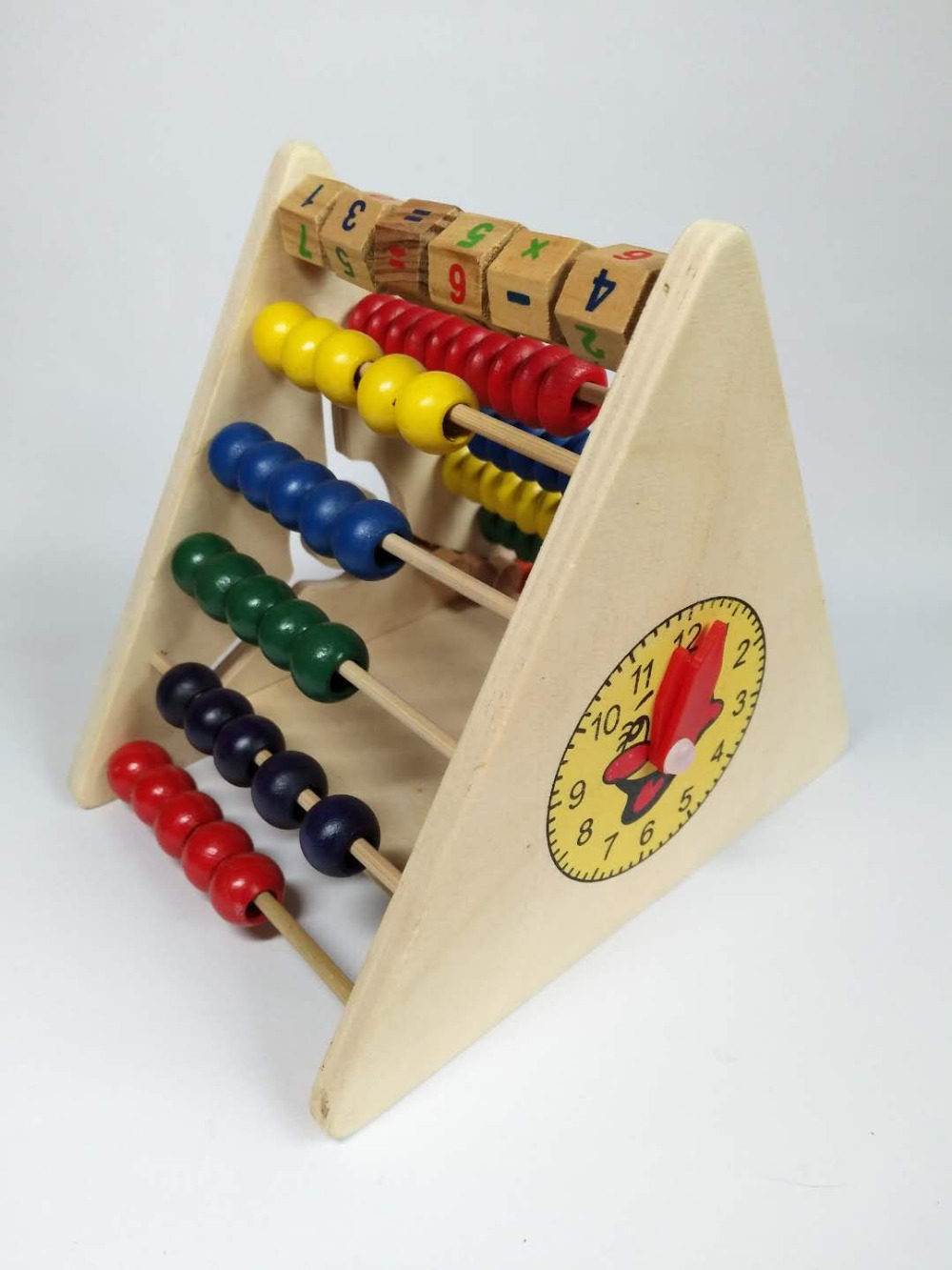 wooden Toys Learning Educational Kids Math Toy For Childs ...