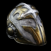 Knight Templar Mask Tactical Airsoft Full Face Protection Game Military Tempered Glass Masks Horror Hunting Resin Carnival Mask