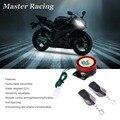 Anti-roubo da motocicleta alarme scooter moto moto bicicleta de partida do motor de controle remoto do sistema de alarme de segurança de proteção de bloqueio