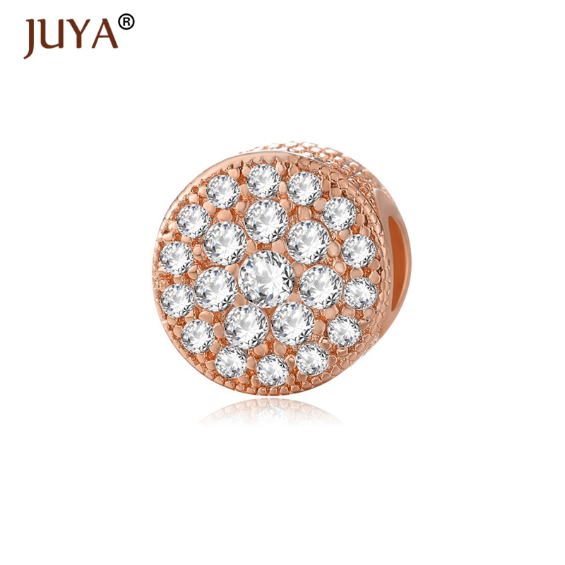 Luxury AAA Zircon Rhinestone Beads For DIY Original Bracelets Necklaces  Accessories Big Hole Fashion Charm Beads sieraden maken-in Beads from  Jewelry ... 8980fd3884e5