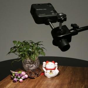 """Image 5 - Сверхмощный отражатель для фотостудии, 19 """", 48,5 см, зажим с волшебной гибкой ручкой, гусиная шея"""