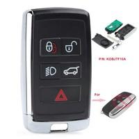 KEYECU Modified Smart Remote Car Key Fob 315MHz/433MHz for Land Rover LR2 LR4 2012 2015,Range Rover Evoque /Sport