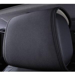 Image 3 - Yeni evrensel pu deri araba koltuğu kapakları kia Rio 3 4 2017 2018 Sorento 2005 2007 2011 2013 2016 2017 soul spectra şekillendirici