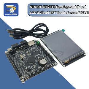 STM32F407VET6 Development Board Cortex-M4 STM32 minimum system learning board ARM core board +3.2 inch LCD TFT With Touch Screen(China)
