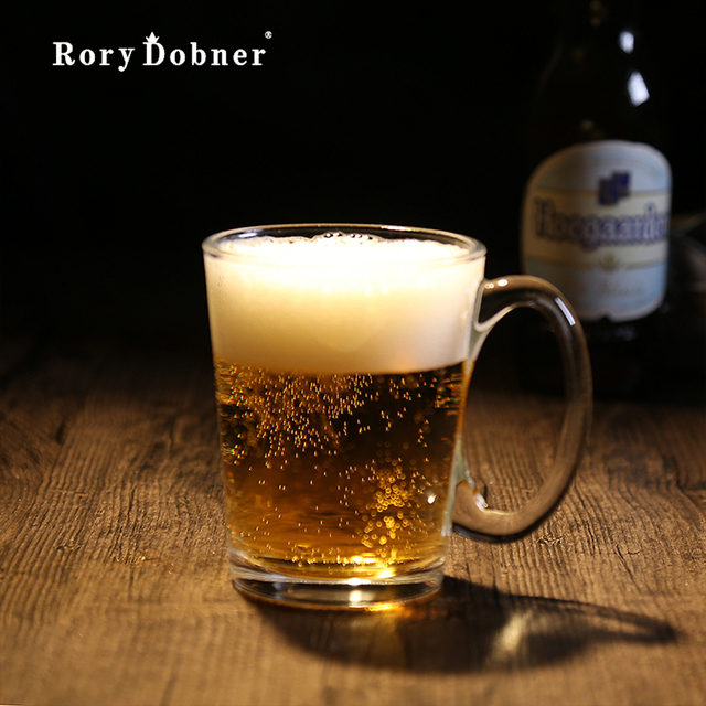 Beer Glass Creative Home Glass Small Fine Brewing Beer Valentine Beer Mug  Glass Pint Botellas Agua
