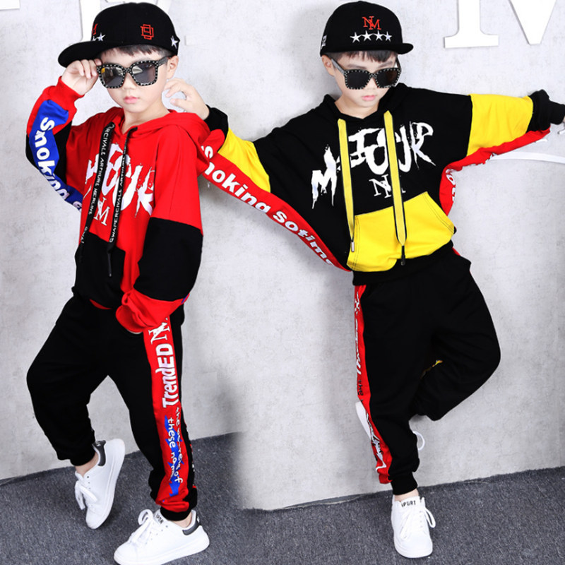 10 12 13 14 years Baby Boy Clothing Suits Autumn Casual Girl Clothes Sets Children Suit Sweatshirts+Sports pants Spring Kids Set