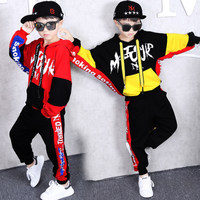 12 14 years Brand Baby Boy Clothing Suits Autumn Casual Girl Clothes Sets Children Suit Sweatshirts+Sports pants Spring Kids Set
