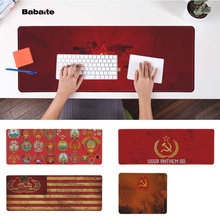 Babaite Personalized Cool Fashion USSR Soviet emblem Natural Rubber Gaming mousepad Desk Mat PC Computer
