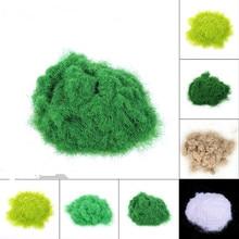 [studio] white grass powder base landscape essential scene model material simulation micro plants