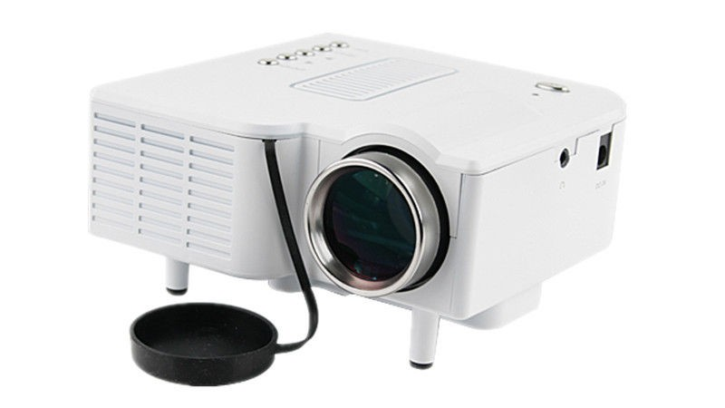 UC28+ Portable mini LED Projector projecteur Home Theater HDMI VGA AV USB SD lamp Remote Control proyector (9)