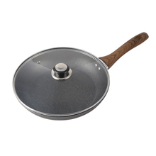 26cm MaifanStone Fry Pan Non-stick Egg Skillet Bakelite Handle Kitchen Cookware Gas Cooker Pan With/Without Glass Lid