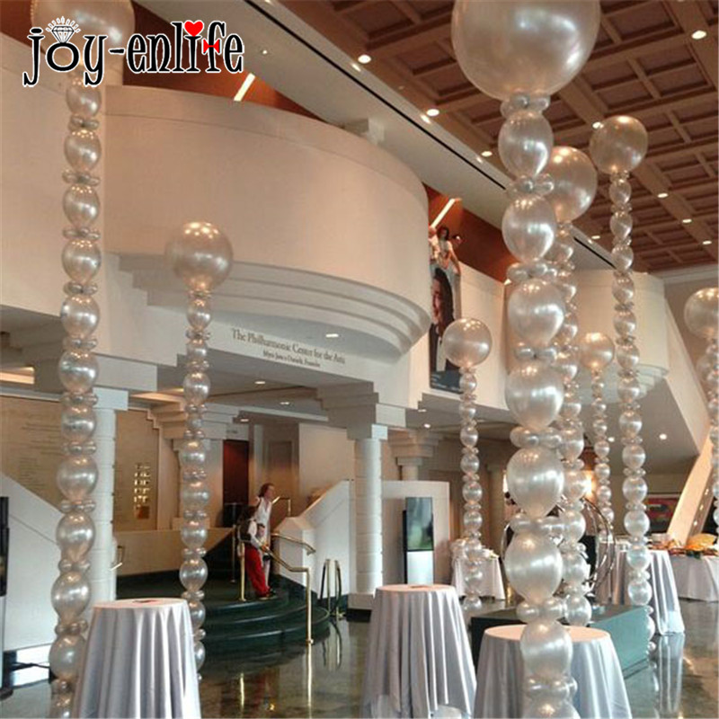 JOY-ENLIFE 1pcs Balloon Arch Plastic Balloons Chain Wedding Transparent Air Globos Helium Ballon Decor Birthday Party Supplies