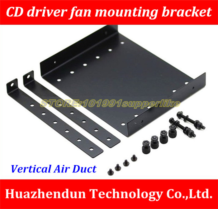 NEW ARRIVALS  Optical drive position fan mounting bracket  cpu/ram/graphics card/northbridge computer case Mounting Bracket personal computer graphics cards fan cooler replacements fit for pc graphics cards cooling fan 12v 0 1a graphic fan