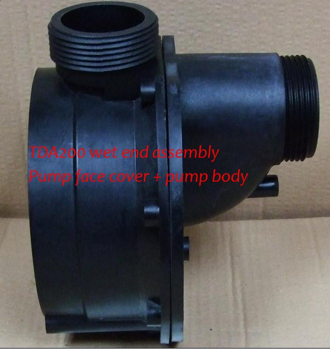 LX pump TDA200 Wet end pump body + pump cover lx pump ea320 ea350 pump wet end pump body