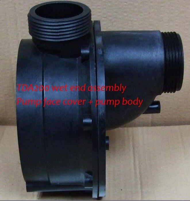 La pompe LX TDA200 Wet end corps de pompe + couvercle de la pompe