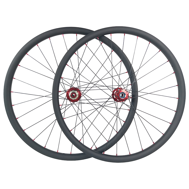 Carbon Mountain Bike Rim 650B 27mm Wide 23mm Depth 28//32H Tubeless UD Matt//Gloss