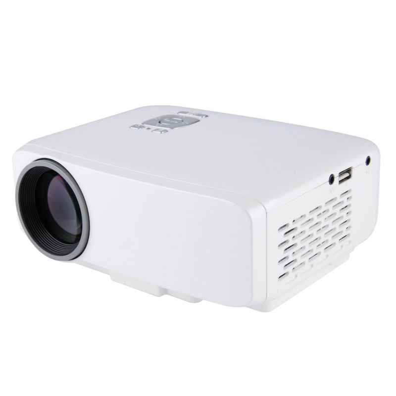 Mini LED Projector 1080P Full HD 60W Home Cinema Theater TFT-LCD HDTV  Projector Portable USB/SD/HDMI/VGA Digital Projector
