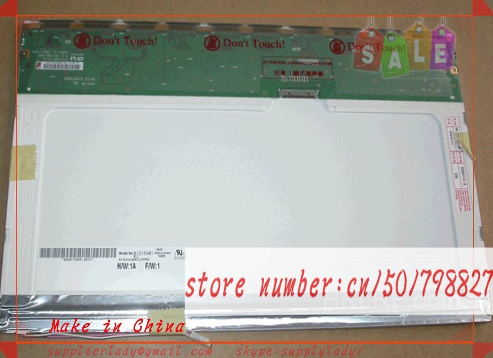 B121EW01 V.1 JOYBOOK 6000 12.1 LCD Screen Laptop Display Panel WXGA