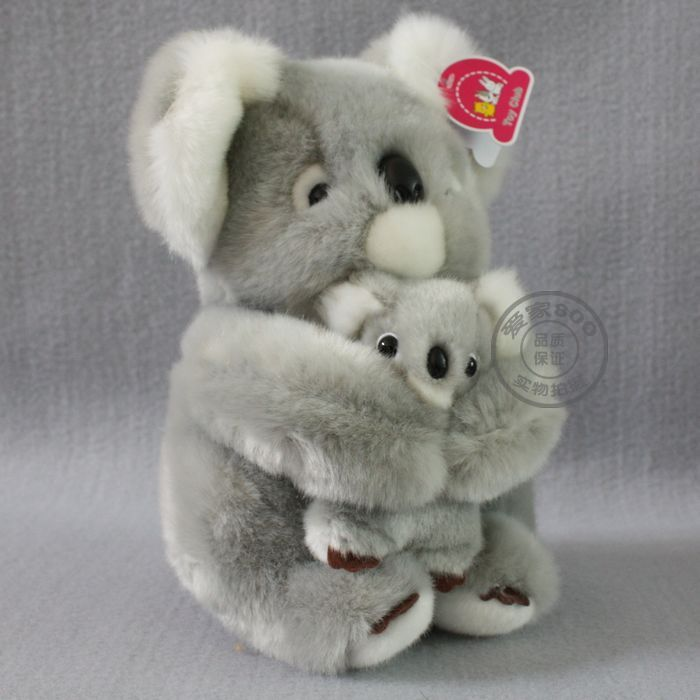 stuffed animal 50cm gray koala bear plush toy soft mother&child koala doll k9650 stuffed animal jungle lion 80cm plush toy soft doll toy w56