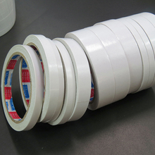 купить 10pcs 0.5CM Strong Adhesive Double Sided Tape Sticke decorative taper for Office Stationery craft scrapbooking 15m дешево