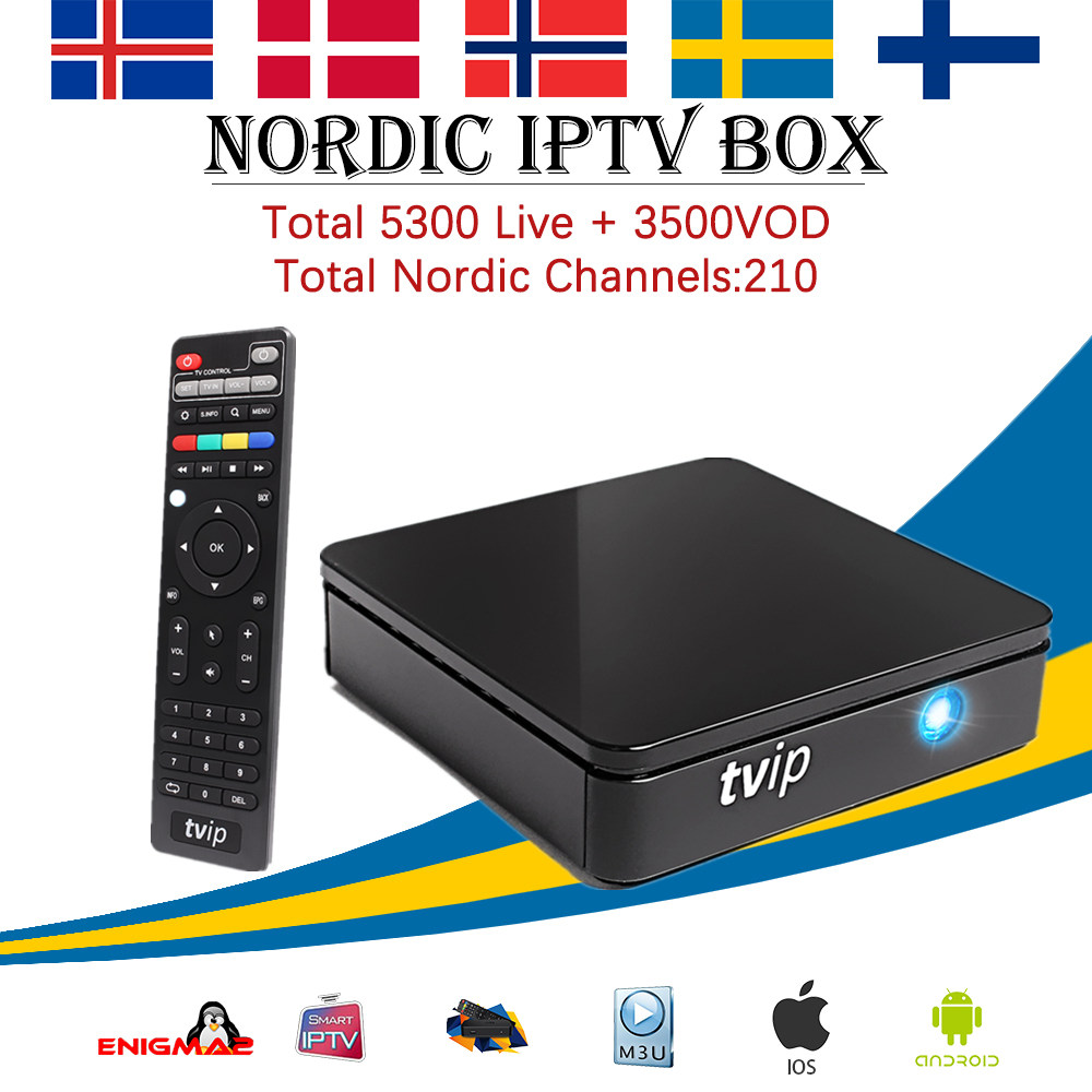 TVIP 412 Android &Linux OS tv box+1 year Europe Sweden Norway Denmark France UK 4900+Live iptv EPG support smart set top tv box 5pcs android tv box tvip 410 412 box amlogic quad core 4gb android linux dual os smart tv box support h 265 airplay dlna 250 254