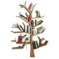 TB1002Creative твердая древесина дерева полок этаже гостиная стены спальни украшения frame личности учащегося детей книжный шкаф