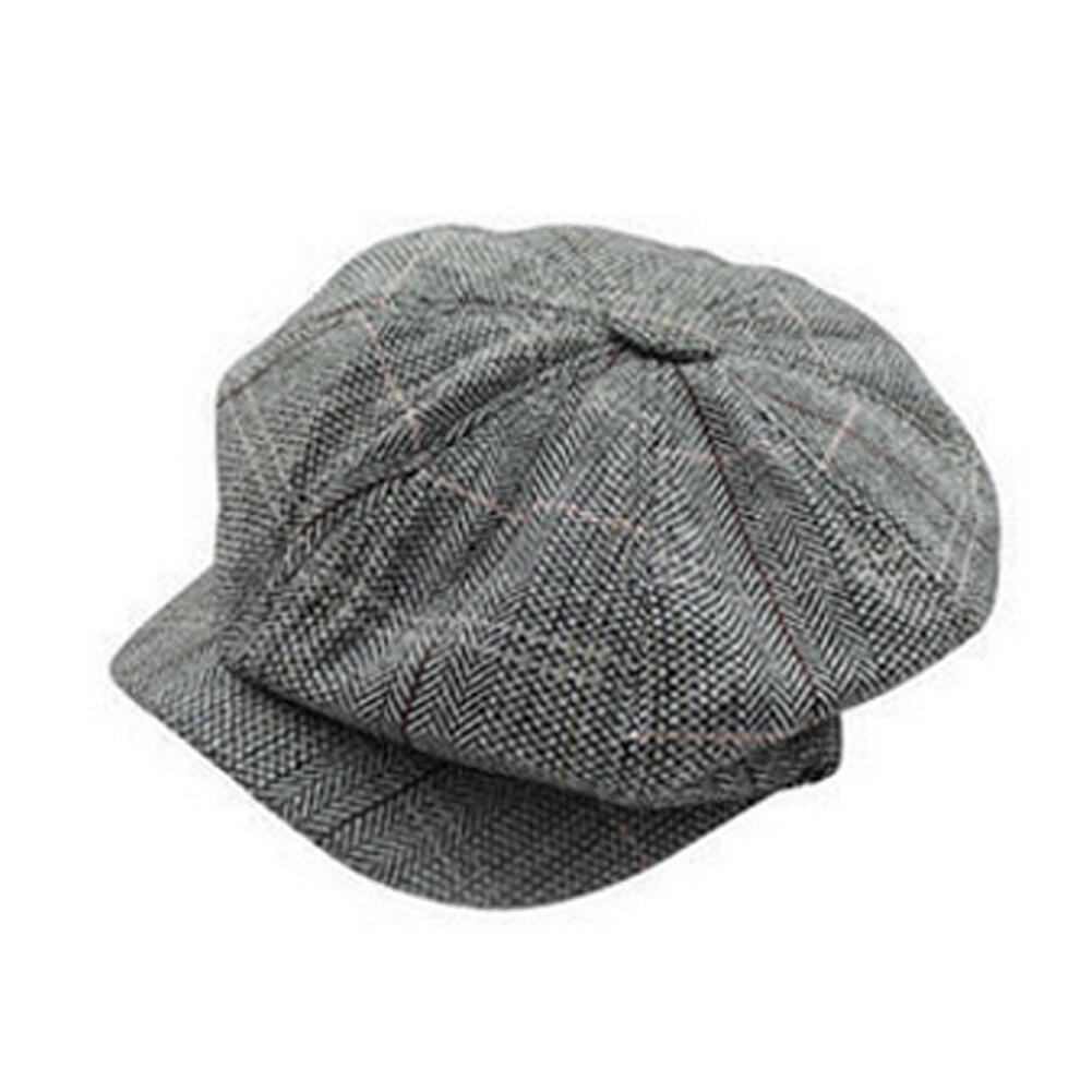 Men Women Newsboy Golf Driving Flat Gatsby Tweed Sun Hat Country Beret Baker Cap painter caps octagonal 2017 fashion new B1