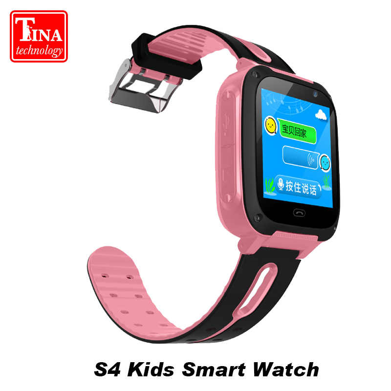 New Arrival Waterproof S4 Smart Children Watch LBS Monitor Positioning Camera Dial SOS  Locator Smart watch for Baby safe