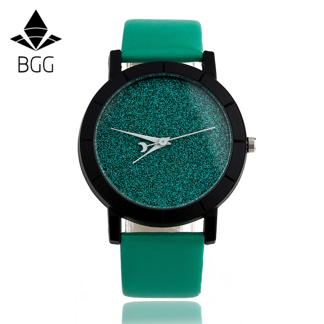 Cute Moon Stars Design Analog Wrist Watch Women Unique Romantic Starry Sky dial Casual Fashion quartz watches Woman Girl Gift 4