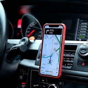 Image 2 - Caso di vibrazione Del Foglio di Caso per il iPhone 12 XR XS di Lusso In Pelle Staccabile Cassa Del Raccoglitore Del Telefono Della Copertura del Magnete per iPhone 11 SE 2020 XS Max 7 8