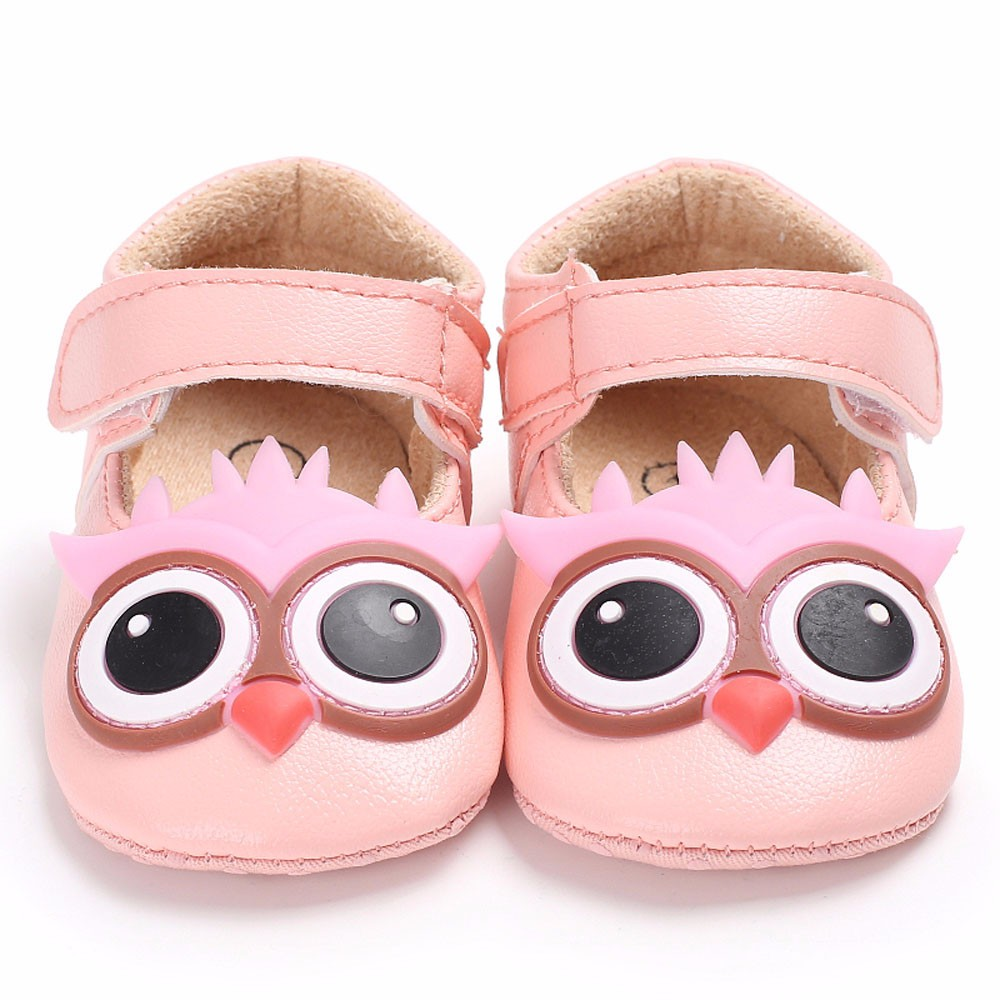 New Style First Walkers Leather Baby Infant Kids Girl Soft Sole Crib Toddler Newborn Shoes