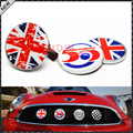 Classic Wreath Metal Front Grill Badge w/ Holder For All MINI Cooper R50 R55 R56 R57 R58 R60 Front Bumper