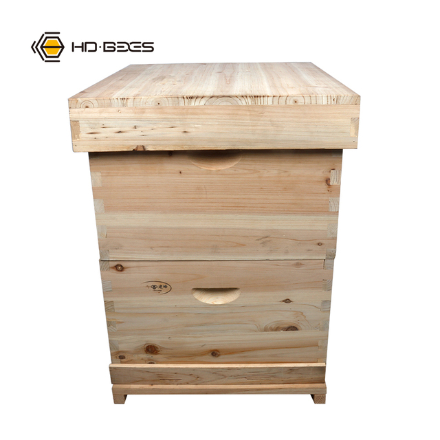Bee Keeping Fri Wood  10 Frames Hive Apicultura Beehive for Beekeeper  Bees and Beekeeping HDBH-002D 2