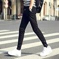 Invierno Pantalones Ocasionales de Los Hombres Con Cordón Sólido Sólido Fit Hip Hop pantalones de Chándal ropa de Diseño de Marca Pantalones de Los Hombres